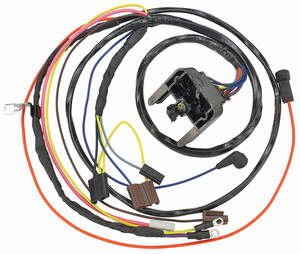 1969-1969 Chevelle Engine Harness V8 HEI w/Gauges, by M&H