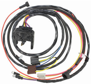 1969-1969 Chevelle Engine Harness V8 HEI w/Warning Lights & Idle Stop Sol., by M&H