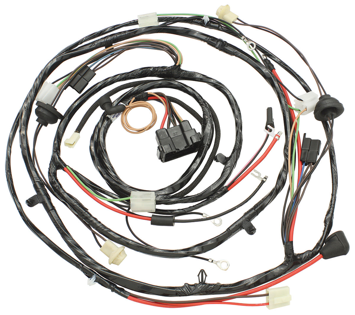 M U0026h 1970 Chevelle Forward Lamp Harness V8 W  Warning Lights  U0026 Ac  Alt   Pass    Int  Reg     Opgi Com