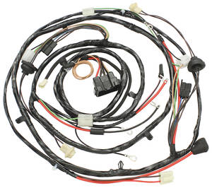 1970 Chevelle Forward Lamp Harness V8 w/Warning Lights & AC (Alt.: Pass.) (Int. Reg.)