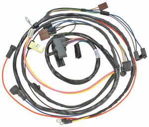 1971-1971 El Camino Engine Harness V8 HEI w/Manual Trans., by M&H