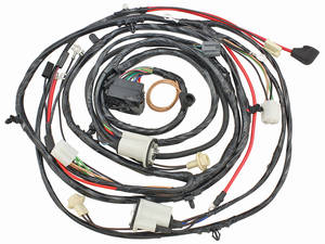 1971-1971 Chevelle Forward Lamp Harness V8 w/Warning Lights (Alt.: Pass.) (Int. Reg.), by M&H