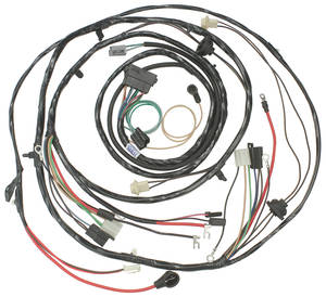 1970-1970 Monte Carlo Forward Lamp Harness (V8 with Warning Lights & with Internal Regulator), by M&H