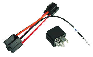 1967-1972 Chevelle Power Accessory Relay & Adapter Harness Window, by M&H