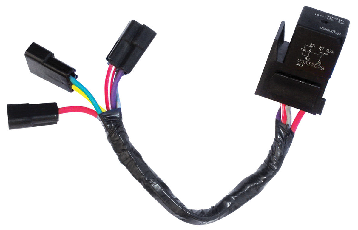 Photo of Seat Motor Relay & Adapter Harness (Power Seat)