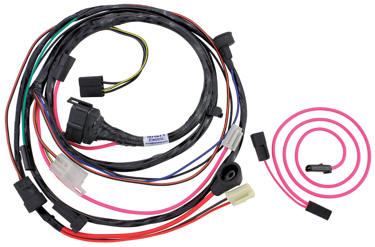 M U0026h Gto Engine Harness For Hei Ignition V8 W  Ram Air Fits