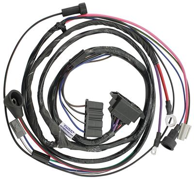 1965 GTO Engine Harness For HEI Ignition V8 Manual, by M&H