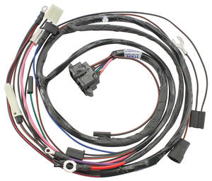 1967 LeMans Engine Harness For HEI Ignition V8 w/AC - SI Series Int. Reg. Alt., Driver Side
