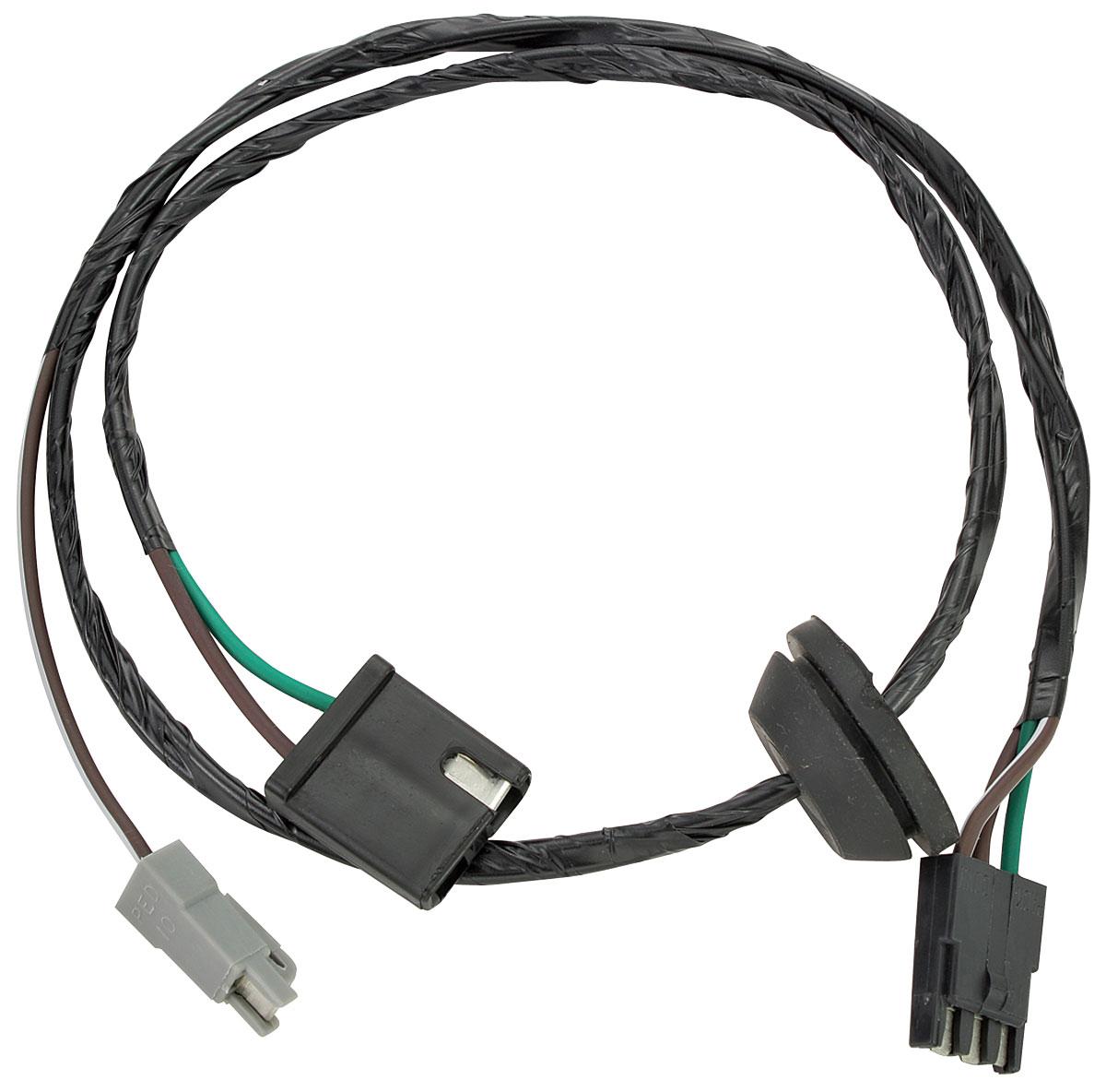 M U0026h 1978 El Camino Wiper Motor Harness Wiper Switch To