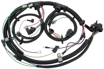 1980-1980 Monte Carlo Engine Harness V8 w/Gauges & TH200C, by M&H
