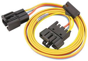 1978-1980 El Camino Heater Harness From Blower Switch, Underdash, w/o AC, by M&H