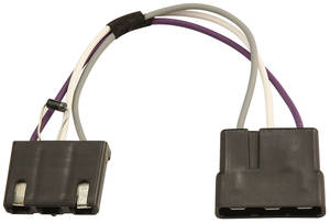 1980 Monte Carlo Wiper Motor Harness Forward Lamp Harness To Wiper Motor Jumper, 231 V6