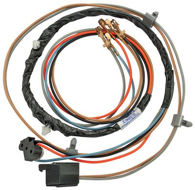 1978-82 Monte Carlo Door Lock Harness, Power Center Crossover w/o Power Windows (Inc. Door Jamb Switch Wire), by M&H