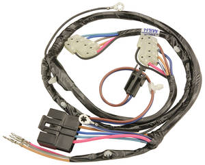 1979-82 Power Window Harness Driver Side Front 4-dr. Malibu Sedan/Wagon Left, by M&H