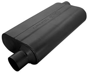 "Muffler, High-Performance 50 Series (3 Chamber) 2-1/2"" I/O, by FLOWMASTER"