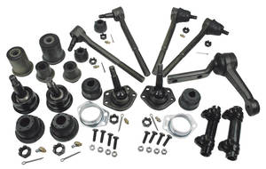 1966-1966 LeMans Front End Rebuild Kits (Moog)