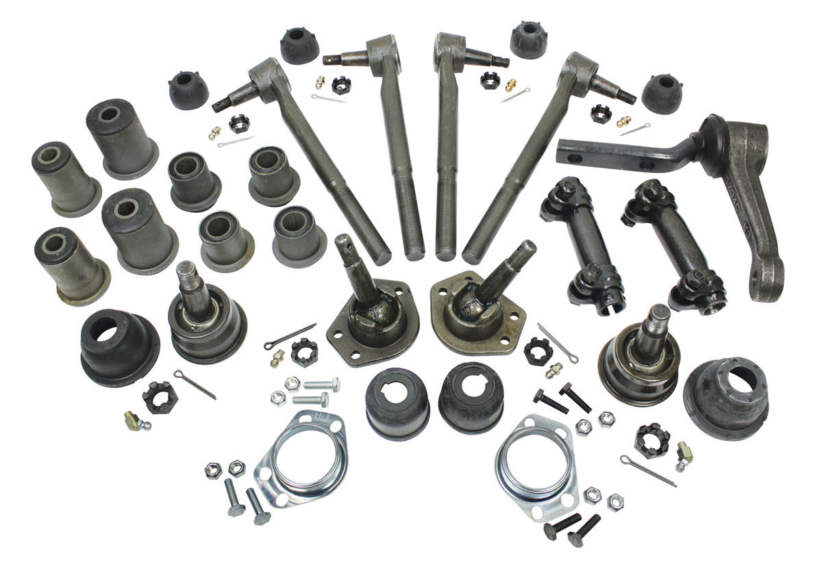 Chevelle Front End Rebuild Kits round bushings Fits 1971