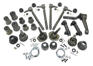 1971-1972 Chevelle Front End Rebuild Kits Round Bushings