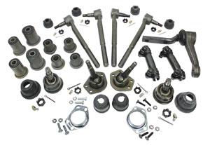 1971-1972 El Camino Front End Rebuild Kits Oval Bushings