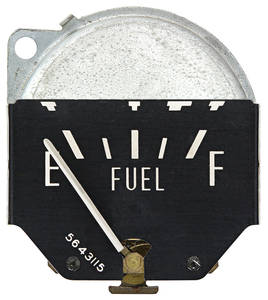 1960 Eldorado Gauge, Fuel Horizontal Sweep