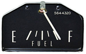 1963-1964 Eldorado Gauge, Fuel Horizontal Sweep