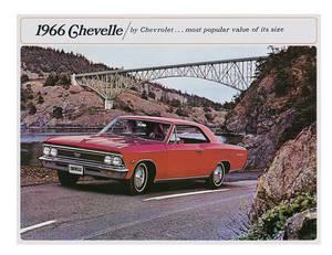 1966 Chevelle Showroom Brochure