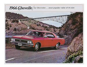 1966 Chevelle Showroom Brochure