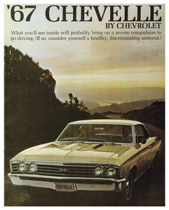 1967 Chevelle Showroom Brochure