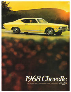 1968-1968 Chevelle Chevelle Showroom Brochure