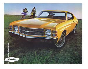 1971-1971 Chevelle Chevelle Showroom Brochure