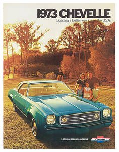 1973-1973 Chevelle Chevelle Showroom Brochure