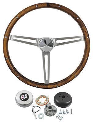 1964-66 Riviera Steering Wheel, Wood