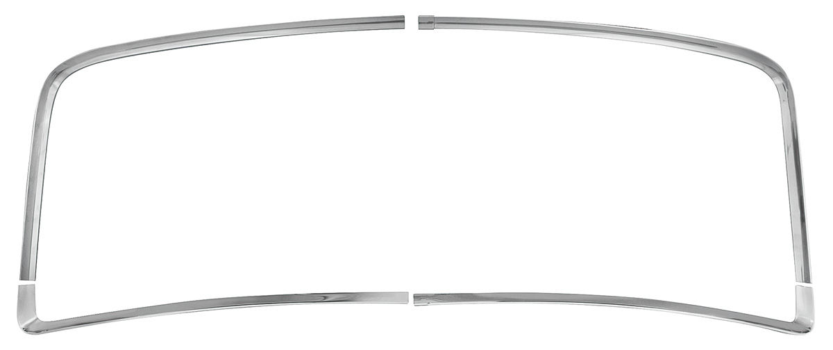 Photo of Chevelle Window Reveal Moldings, Rear coupe (4-piece)