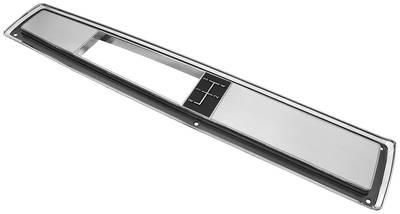 1968-72 El Camino Console Top Plate 4-Spd.