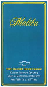 1979-1979 Malibu Authentic Owner's Manuals Malibu