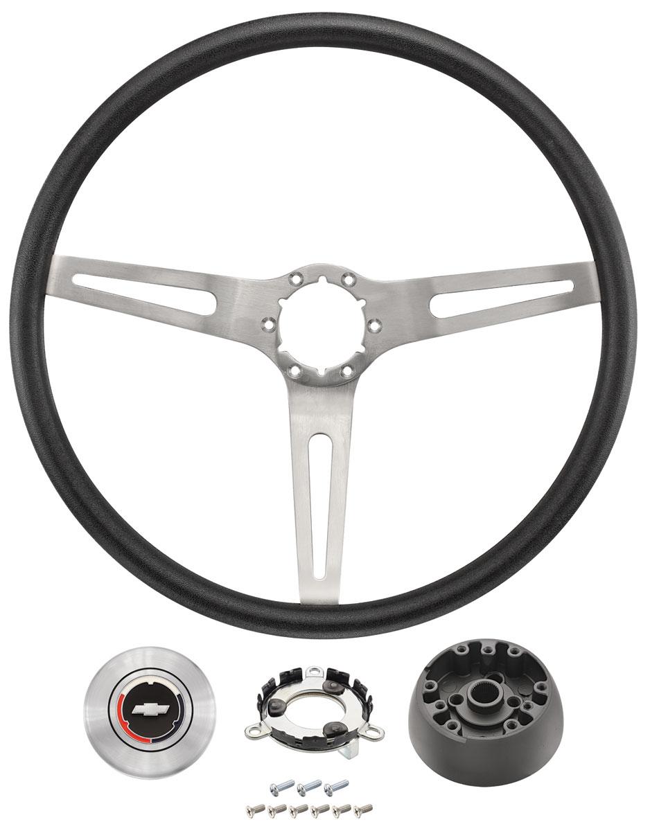 Photo of Chevelle Steering Wheel, 3-Spoke
