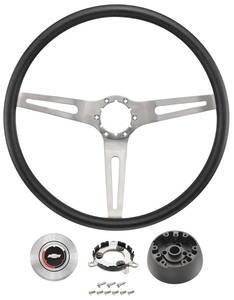 1969-72 Chevelle Steering Wheel, 3-Spoke
