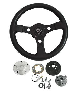 1966 Chevelle Steering Wheels, Formula GT Polished Billet