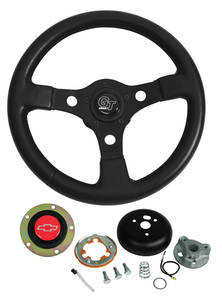 1969-77 Chevelle Steering Wheels, Formula GT Red Bowtie