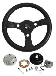 1978-88 Monte Carlo Steering Wheel, Formula GT (with Polished Billet Center Cap), by Grant
