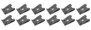 1961-73 GTO Exterior Fold-Over Clips Use w/#8 Tap Screw