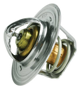 1961-73 LeMans Thermostat, Stainless Steel Standard 195°