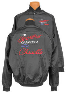 "1964-1977 Chevelle Satin Racing Jacket, Heartbeat Of America ""Chevelle"""