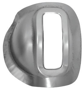 1968-72 Chevelle Tunnel Plate, Steel w/Console