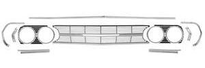 1965-1965 El Camino Grille Kit, 1965 Chevelle & El Camino, by RESTOPARTS