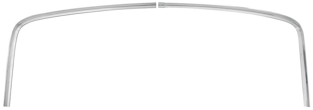 Photo of Window Reveal Moldings, 1966-67 Chevelle Coupe Rear upper/side