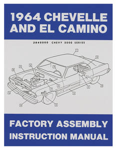 1964-1964 Chevelle Factory Assembly Line Manuals