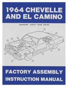 1964-1964 El Camino Factory Assembly Line Manuals