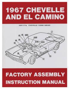 1967-1967 El Camino Factory Assembly Line Manuals