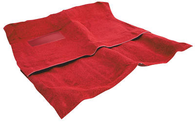 1976-1976 El Camino Carpet, Original Style Molded El Camino, Cut-Pile (2-Pieces), by ACC